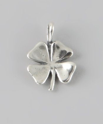 Sterling Silver Four Leaf Clover