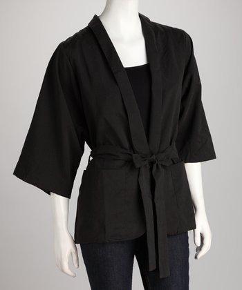 Black Sash Jacket