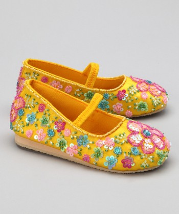 Yellow Flower Flat