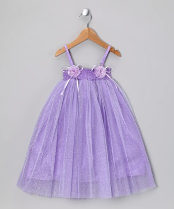 Light Purple Carley Dress - Toddler & Girls