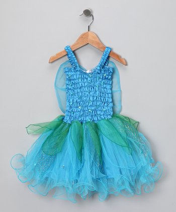 Turquoise Ella Dress - Girls