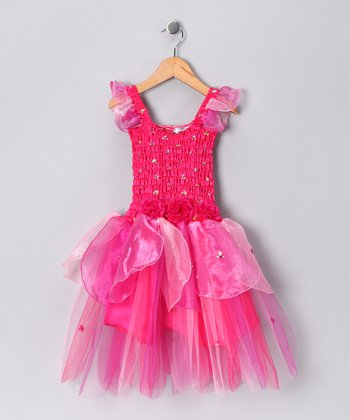 Fuchsia Abigail Dress - Girls