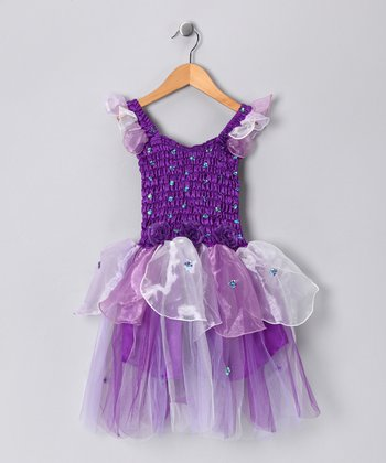 Purple Abigail Dress - Toddler & Girls