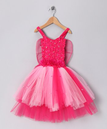 Fuchsia Ava Dress - Toddler & Girls