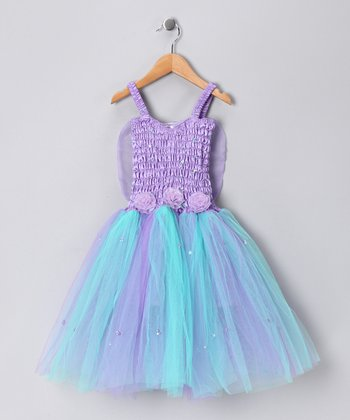 Light Purple & Mint Cinderella Dress - Girls