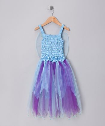 Light Blue Seraphina Dress - Toddler & Girls