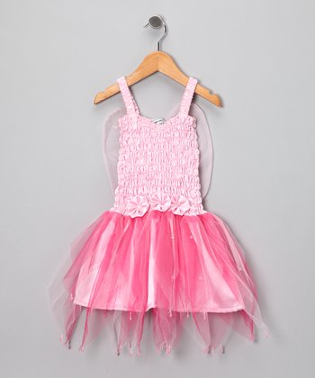 Pink Firefly Dress - Toddler & Girls