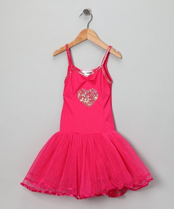 Fuchsia Julia Dress - Girls