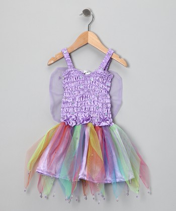 Light Purple Rainbow Dress - Toddler & Girls