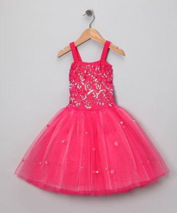 Fuchsia Sophie Dress - Toddler & Girls
