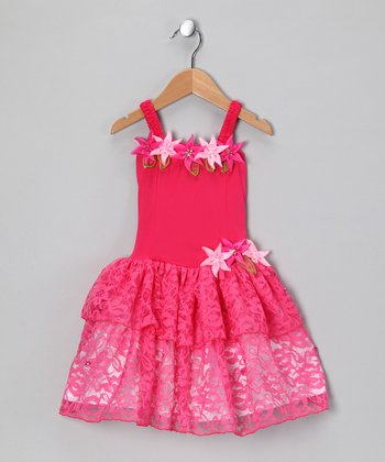 Fuchsia Tiffany Dress - Toddler & Girls