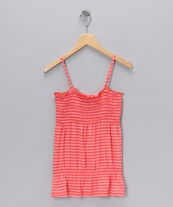 Sherbert Smocked Tank - Girls