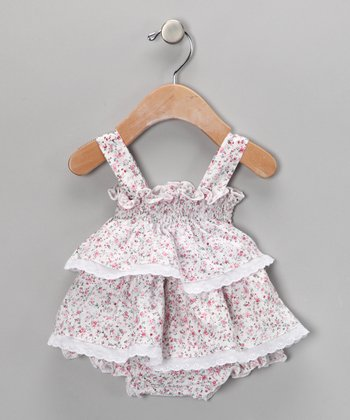Floral Ruffle Dress - Infant
