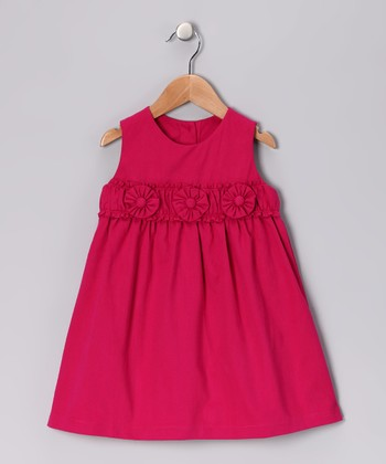 Fuchsia Flower Dress - Infant & Toddler