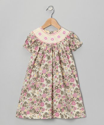 Pink Liberty Bishop Dress - Infant