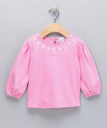 Pink Daisy Top - Toddler & Girls
