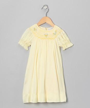 Yellow Rose Bishop Dress - Infant & Toddler