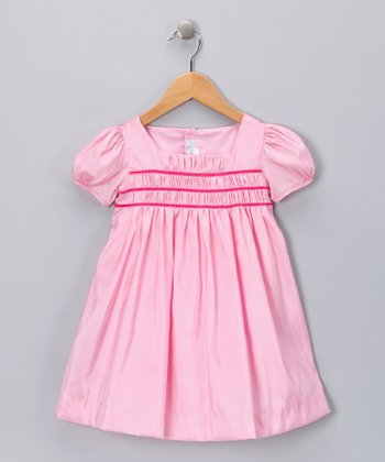 Pink Smocked Dress - Infant & Toddler