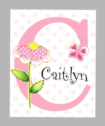 Flower Personalized Print