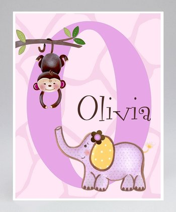 Safari Adventure Personalized Print