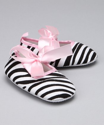 Fashion Belles Zebra & Pink Booties