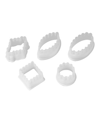 Fluted Petit Four 5-Piece Set