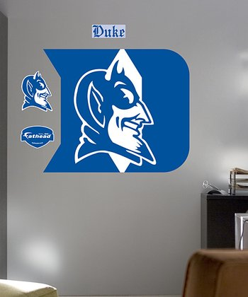Duke Blue Devils Logo Wall Decal Set