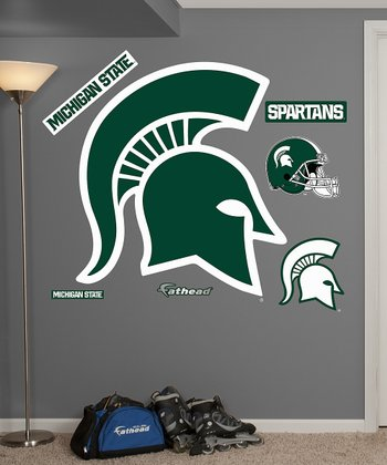 Michigan State Spartans Logo Wall Decal Set