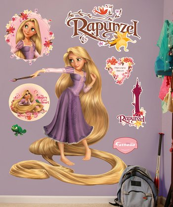 Rapunzel Wall Decal Set