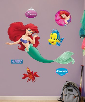 Fathead Little Mermaid Ariel Wall Decal Set