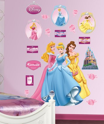 Disney Princess Wall Decal Set