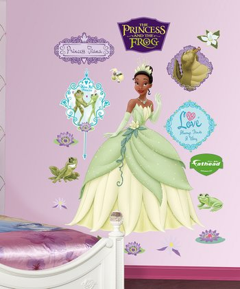 Princess Tiana & the Frog Wall Decal Set