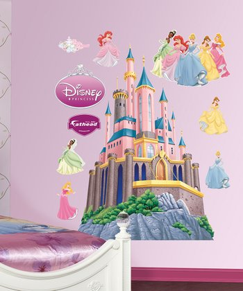 Disney Princess Castle Wall Decal Set