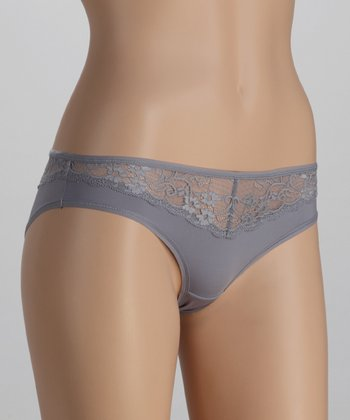 Shadow Blossom Lace Cheeky Bikini Briefs
