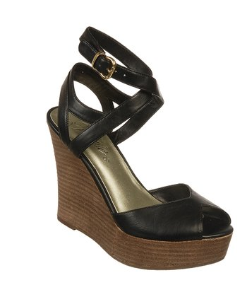 Black Queenie Too Wedge