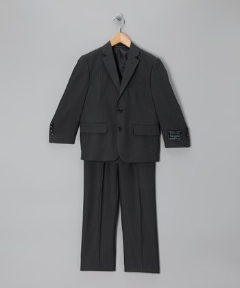 Charcoal Gray Suit Jacket & Pants - Boys