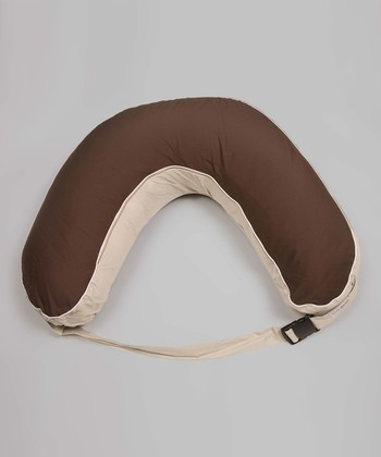 Chocolate Cooeee Portable Wraparound Nursing Pillow