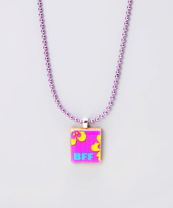 'BFF' Scrabble Tile Necklace