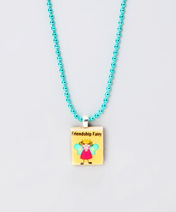 'Friendship Fairy' Scrabble Tile Necklace