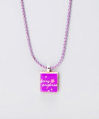 'Fairy Princess' Scrabble Tile Necklace