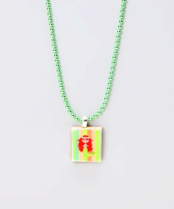 Mermaid Scrabble Tile Necklace