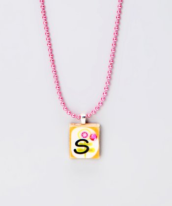 'S' Scrabble Tile Necklace
