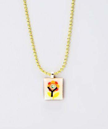 'Y' Scrabble Tile Necklace