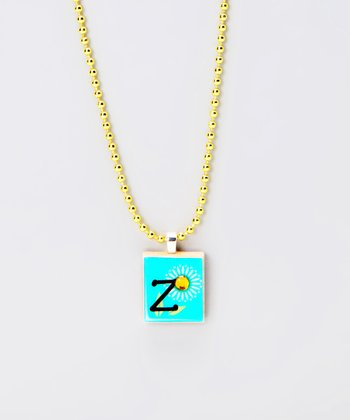 'Z' Scrabble Tile Necklace