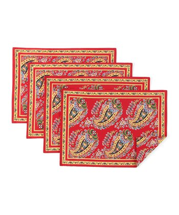 Paisley Place Mat - Set of Four