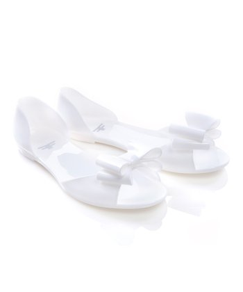 White Superfly Sandal