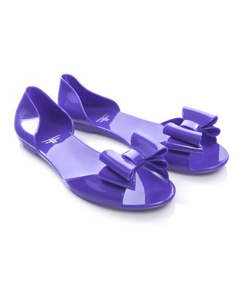 Purple Damselfly Sandal