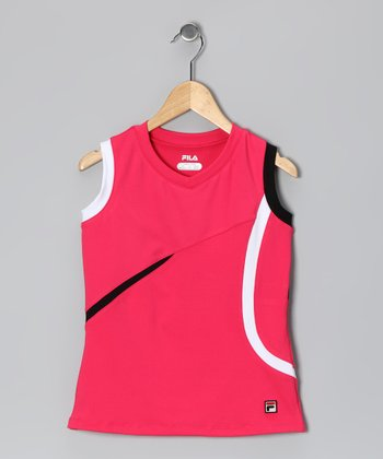 Watermelon V-Neck Tank - Girls