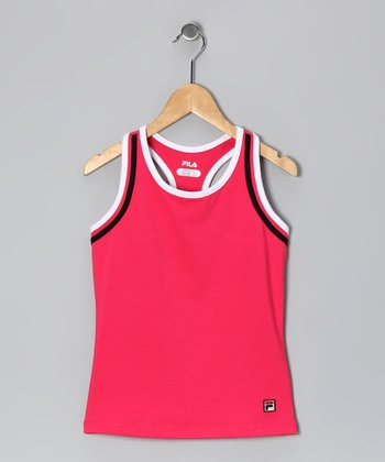 Watermelon Binding Tank - Girls