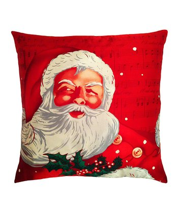 Santa Claus Silk Pillow